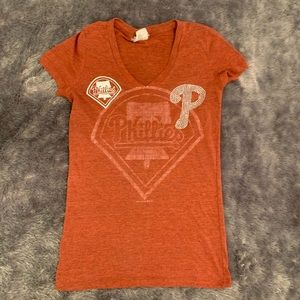 Philadelphia Phillies v-neck tee